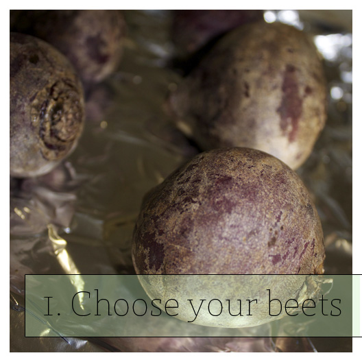 Choose your beets